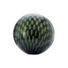 Checker Beads Round 22mm Green/black